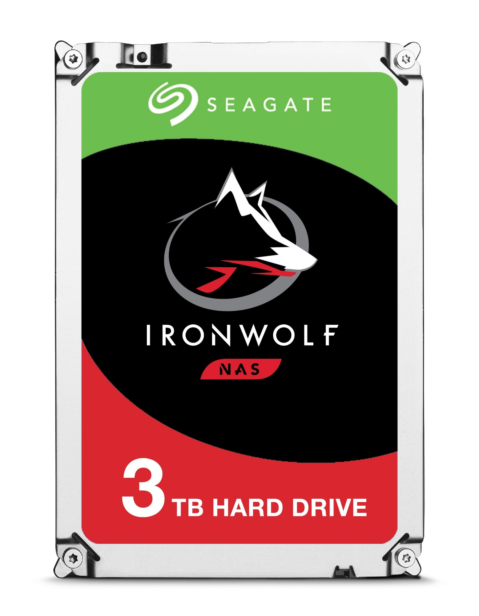 "Seagate IronWolf ST3000VN007 internal hard drive 3.5"" 3000 GB Serial ATA III"