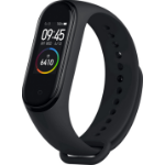 "Xiaomi Mi Smart Band 4 Wristband activity tracker Black AMOLED 2.41 cm (0.95"")"