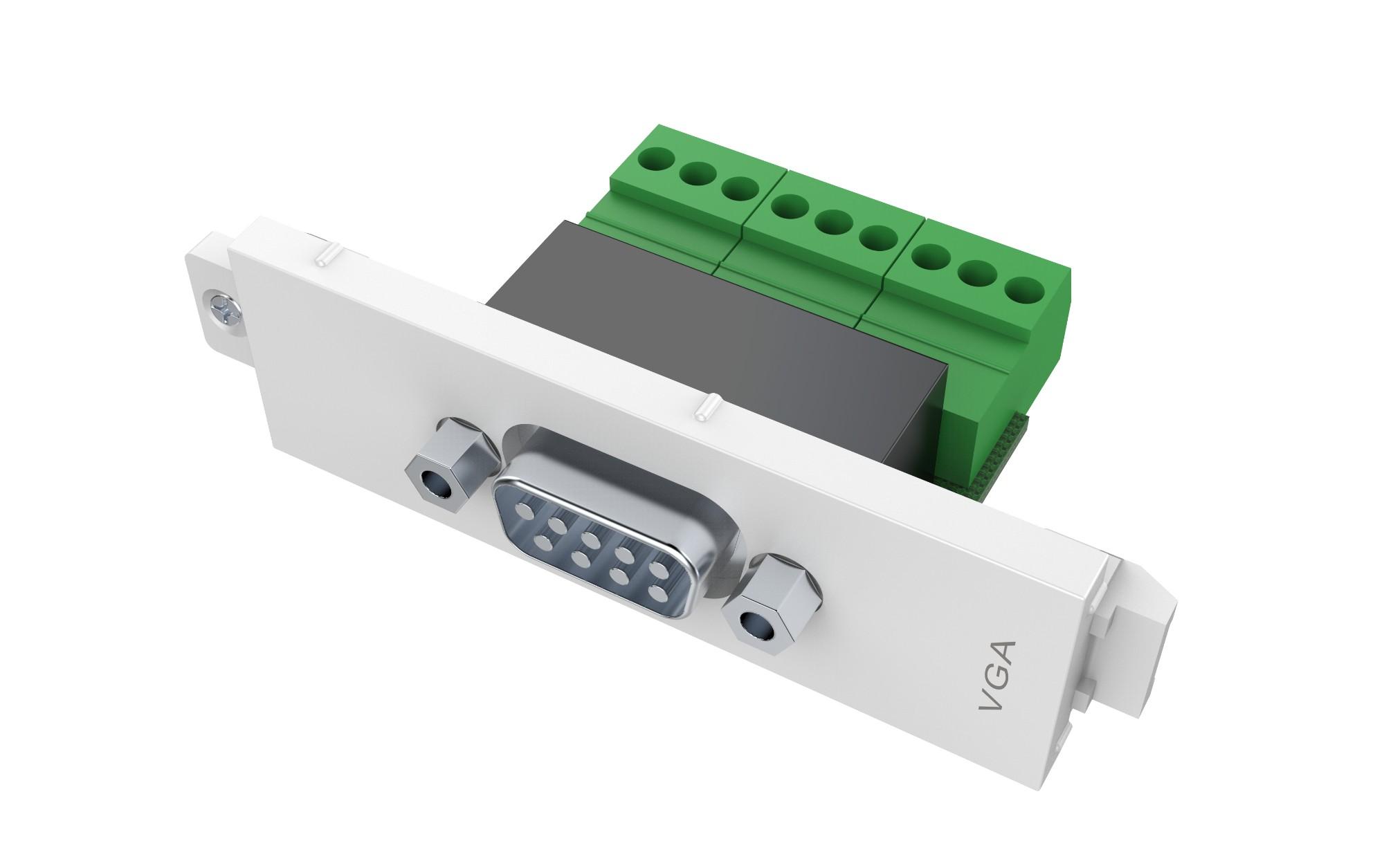 Vision TC3 SERIALM toma de corriente VGA Blanco