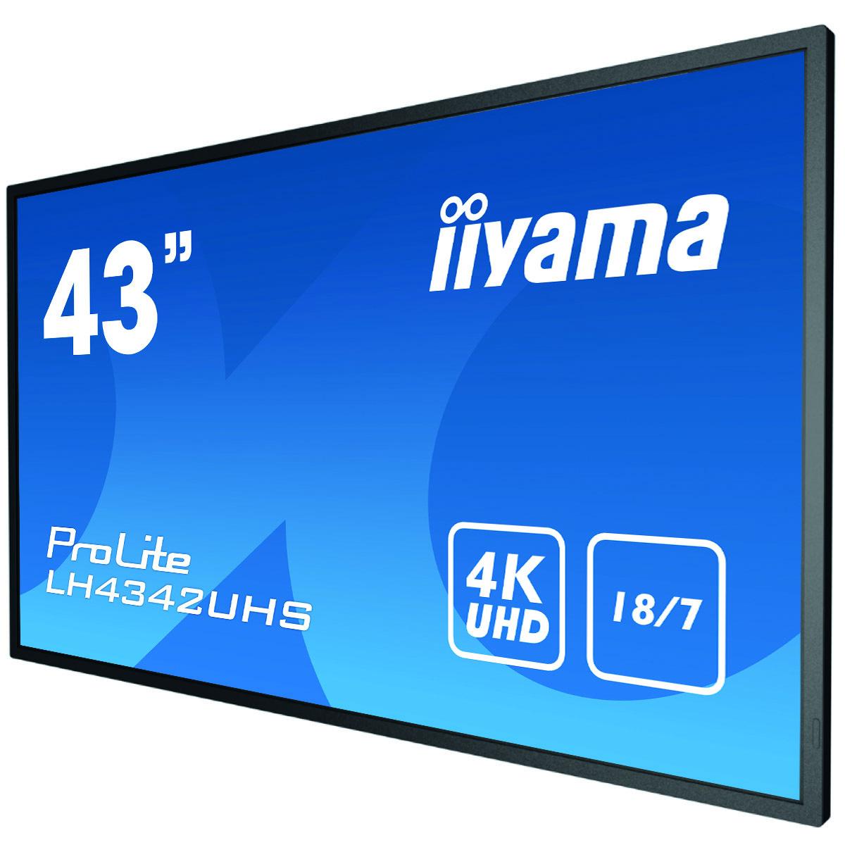 iiyama LH4342UHS-B1 signage display 108 cm (42.5