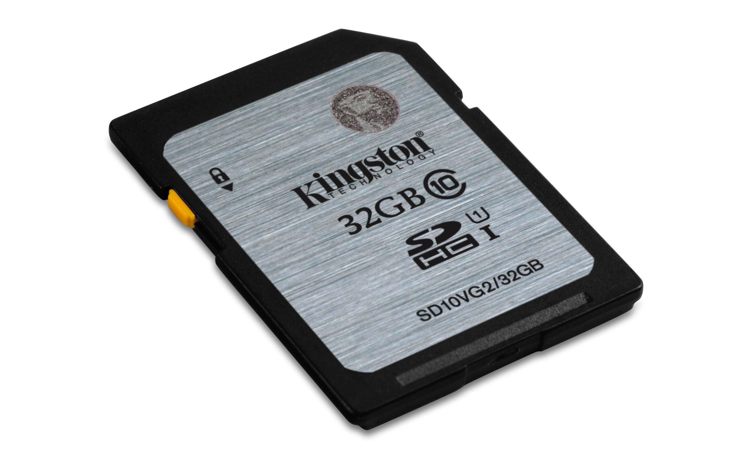 Kingston Technology Class 10 UHS-I SDHC 32GB 32GB SDHC UHS Class 10 memory card
