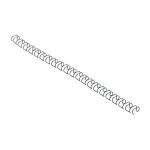 GBC MultiBind Binding Wires 8mm Black (100) ring binder