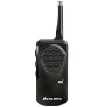 Midland HH50 Portable Black Clock/Portable Radio