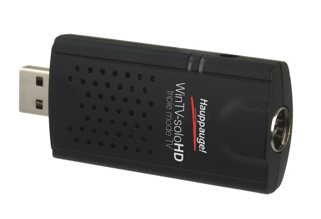 WinTV soloHD Digital TV tuner DVB-C DVB-T2 HDTV USB 2.0