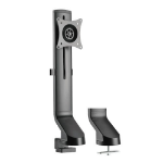 """Tripp Lite DDR1732SC Single-Display Monitor Arm with Desk Clamp and Grommet - Height Adjustable, 17"""" to 32"""" Monitors"""