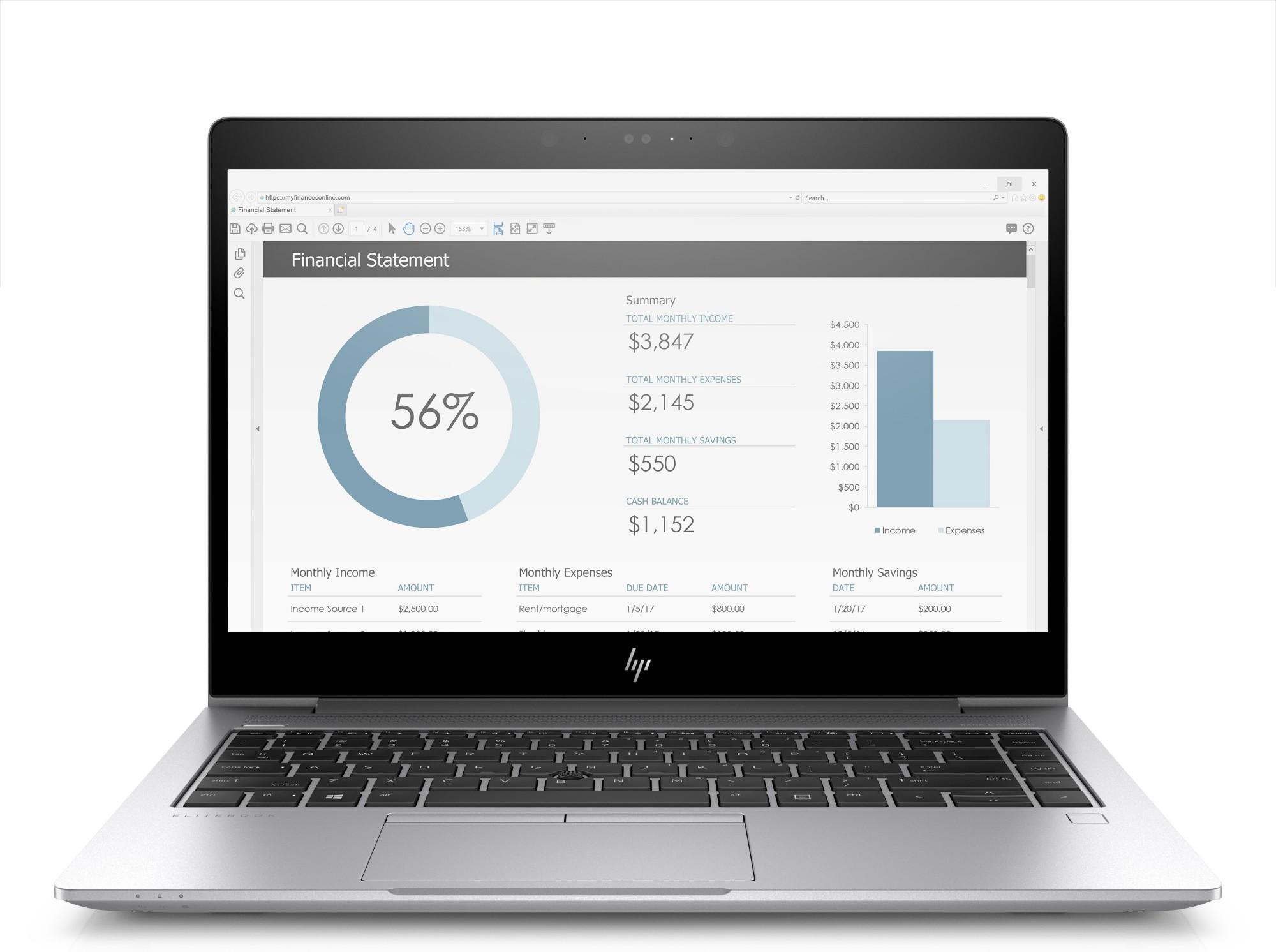 HP EliteBook 735 G5 Silver Notebook 33.8 cm (13.3