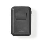 Nedis KEYCC02BK safe Wall safe Aluminium Black