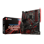 MSI MPG Z390 GAMING PLUS placa base LGA 1151 (Zócalo H4) ATX Intel Z390