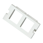 Cablenet 2 Port Keystone Housing (25mm x 50mm) White