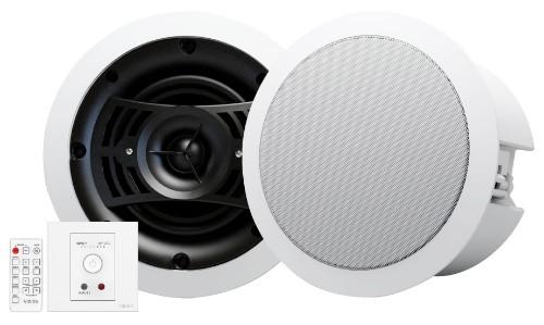 Vision TC3-AMP+CS-1800 White loudspeaker