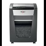 Rexel Momentum X420 triturador de papel Corte cruzado Negro, Plata