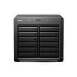 Synology DX1215 disk array 24 TB Desktop Black