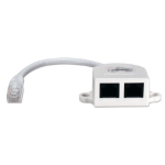 QVS C5YMFF network splitter White