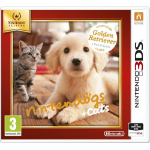 Nintendo nintendogs + cats: Golden Retriever & New Friends(Selects), 3DS