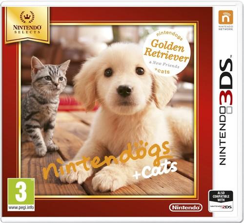 Nintendo nintendogs + cats: Golden Retriever & New Friends(Selects), 3DS