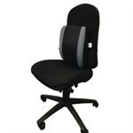 Contour Ergonomics Adjustable Lumbar Support Black/Grey CE77701