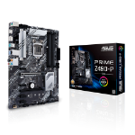 ASUS PRIME Z490-P/CSM Intel Z490 (LGA 1200) ATX motherboard with dual M.2, 11 DrMOS power stages, 1 Gb Et