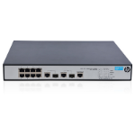 Hewlett Packard Enterprise 1910-8 -PoE+ Managed Fast Ethernet (10/100) Power over Ethernet (PoE) Black