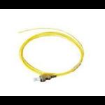 Microconnect FIBFCPIG fiber optic cable 1.5 m OS2 FC/UPC Yellow