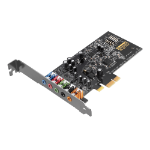 Creative Labs Sound Blaster Audigy FX 5.1 channels PCI-E x1 70SB157000000