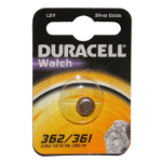 Duracell D362 Silver-Oxide (S) 1.5V non-rechargeable battery