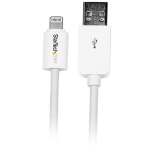 StarTech.com USB to Lightning Cable - Apple MFi Certified - Long - 3 m (10 ft.) - White mobile phone cable