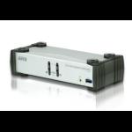 ATEN 2 Port USB 3.0 4K DisplayPort KVMP Switch Support HDCP, 3840 x 2160 @ 30Hz, DP 1.1, Mouse emulation,