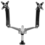 StarTech.com Dual-Monitor Arm - One-Touch Height Adjustment - Stackable - Tool-less Assembly