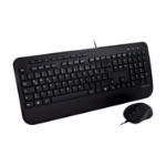 V7 CKU300DE toetsenbord USB QWERTZ Duits Zwart
