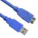 VCOM USB3.0 A/Micro B 1.8m 1.8m USB A Micro-USB B Male Male Blue USB cable