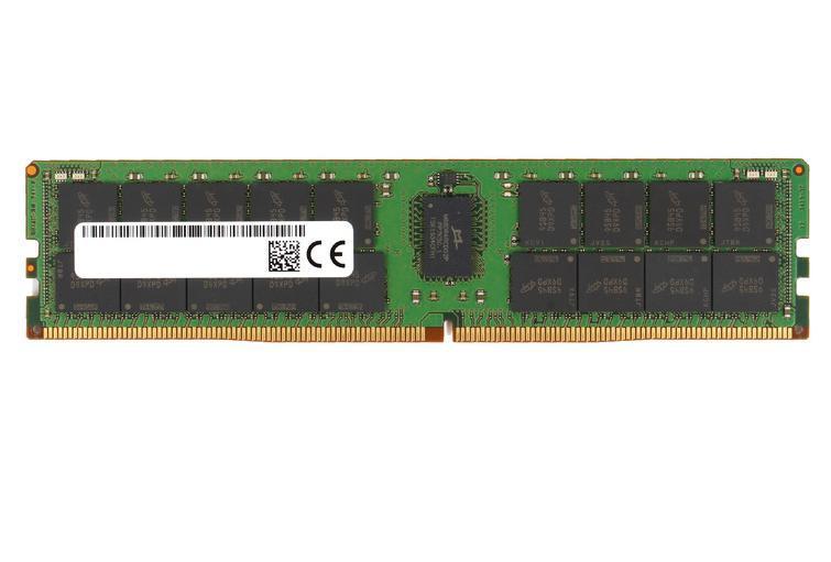 Micron MTA36ASF4G72PZ-2G6J1 módulo de memoria 32 GB 1 x 32 GB DDR4 2666 MHz ECC