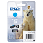 Epson C13T26124012 (26) Ink cartridge cyan, 300 pages, 5ml