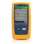 Fluke DSX-8000 Twisted pair cable tester Black,Yellow