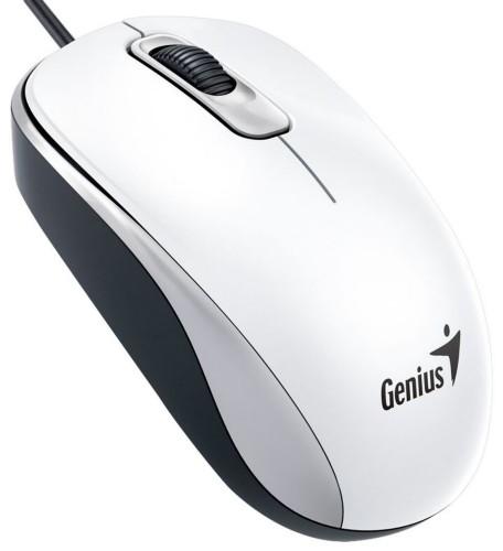Genius DX-110 mice USB Optical 1000 DPI White