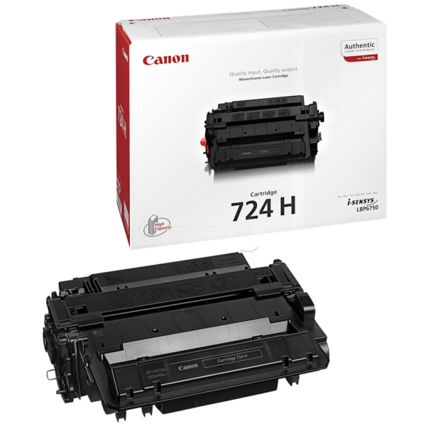Canon 3482B002 (724H) Toner black, 12.5K pages