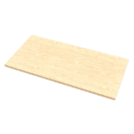 Fellowes 9649901 computer desk top Square shape Maple colour