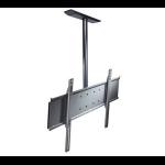 "Peerless PLCM-UNL-CP-AW flat panel ceiling mount 65"" Silver"