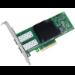 Intel X710DA2 adaptador y tarjeta de red Fibra 10000 Mbit/s Interno