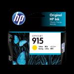 HP 915 Yellow Original Ink Cartridge