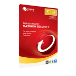 TREND MICRO Maximum Security 2017 (1-2 Devices) 1 Year Multi-Device (No CD Media)