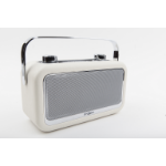 POP vintage BT radio Portable Digital Cream