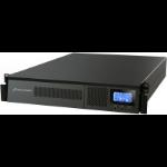 PowerWalker VFI 1000RM LCD uninterruptible power supply (UPS) Double-conversion (Online) 1000 VA 900 W 6 AC outlet(s)