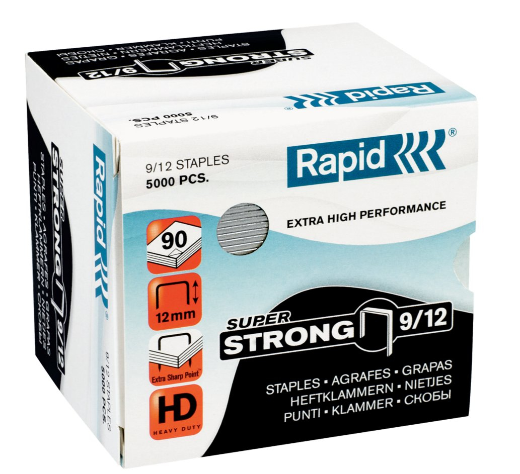 Rapid 9/12 Staples pack 5000 staples