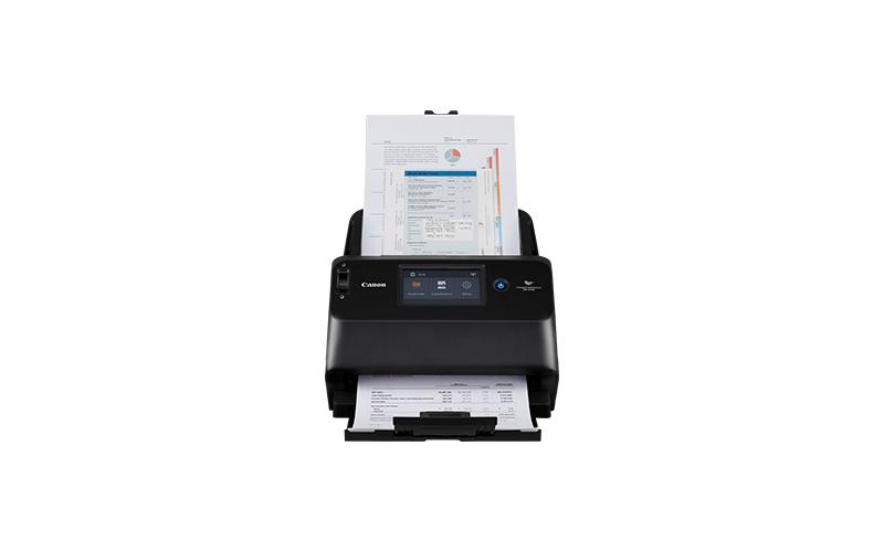 Canon imageFORMULA DR-S150 600 x 600 DPI ADF-/handmatige invoer scanner Zwart