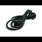 Lenovo 2.8m 10A/230V 2.8m C13 coupler CEE7/7 Black power cable