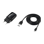 HTC TC E250 Indoor Black mobile device charger