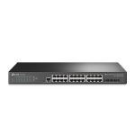 TP-LINK TL-SG3428X network switch Managed L2+ Gigabit Ethernet (10/100/1000) Black