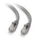 C2G Cable de conexión de red LSZH UTP, Cat5E, de 5 m - Gris