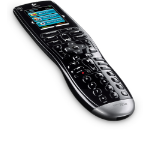 Logitech Harmony 650 Universal IR Wireless touch screen Black remote control