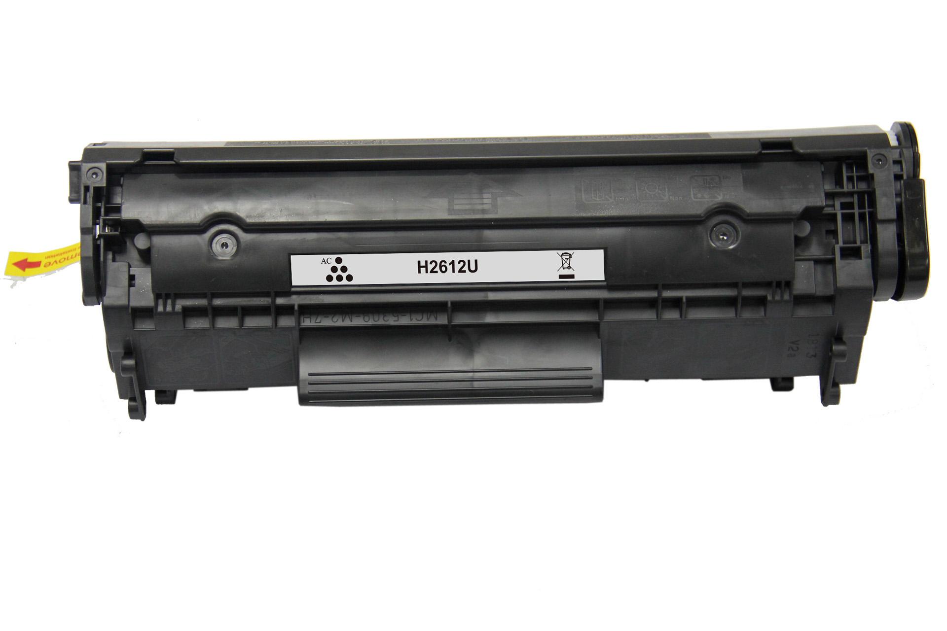 Remanufactured HP Q2612A (12A) Black Toner Cartridge